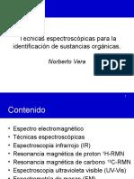 Técnicas espectroscópicas en orgánica