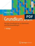 Abts Dietmar - Grundkurs JAVA