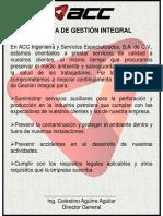 01 Politica de Gestion Integral (Vertical)