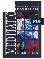 Meditation and Kabbalah - Aryeh Kaplan