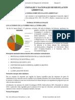 Normas Nacionales e Internacionales de Regulación Ambiental