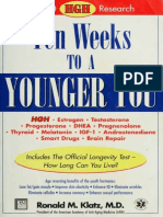 Ten Weeks to a Younger You Newest HGH Research