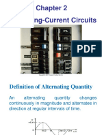 Chapter 2 AC Circuits