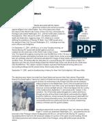 World Trade Center Attack Article