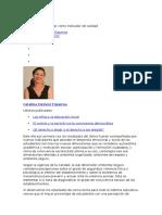 Catalina Estévez Figueroa - (Art.) La convivencia escolar como indicador de calidad