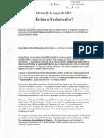 Unidad 1-3 America Latina o Sudamerica