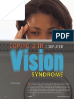 Coping With Computer Vision Syndrome