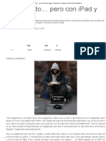 Vagabundo… Pero Con iPad y Laptop « Pijamasurf - Noticias e Información Alternativa