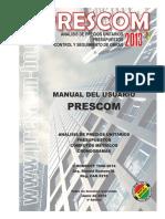 Manual Prescom 2013