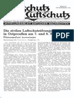 Gasschutz Und Luftschutz 1935 Nr.9 September