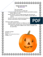 pumpkin carols lesson plan  1
