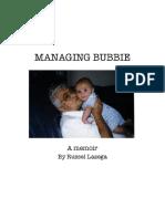 Excerpt from Managing Bubbie
