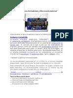 Arquitecturas Embebidas y Microcontroladores