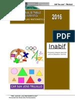 Plan Anual de  Matemática 2016