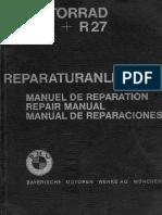 Manual Reparación BMW r26 27