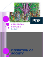 Caribbean Studies Society Presentation