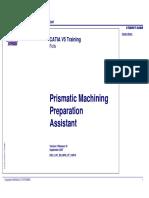 Asistente de Preparacion Al Mecanizado Prismatico