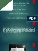 Antecedentes de La Onu(Derecho Internacional)