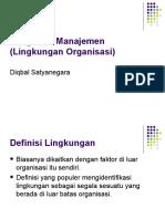 lingkungan organisasi (pengantar manajemen)