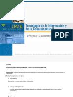 01 - Evidencia 1.3_Laboratorio Tic