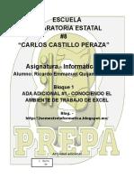 Ambiente Excel Ricardo Quijano