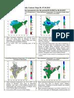 Daily Contour Maps India 07.10.2015
