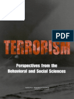 Terrorism_perspectives From Behavior and Social Sciencies