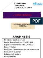 Caso Clinico-pleuritis Tbc