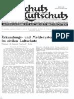 Gasschutz Und Luftschutz 1936 Nr.8 August