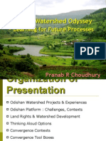 Analyzing Orissan Watershed Experiences