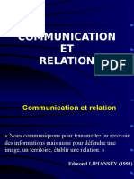Communication Et Relation
