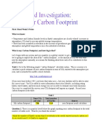week 3 carbon footprint activity  rodesney