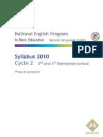 Syllabus Cycle 2