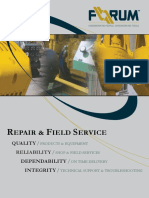 Repair and Field Service Brochure