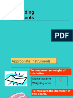 1.4 Measurements