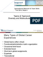 MGB 610-611 - Wk 4 Multicultural Teams - Fa2015 - Handout