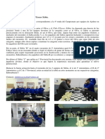 Crónica 4ª Ronda Interclubs Ajedrez 2016