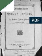 Tratado Teórico-práctico de Armonía y Composición