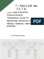 Tipos Básicos de Polímeros