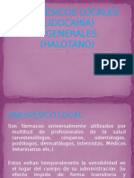 Anestésicos Locales Expocision