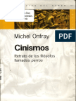 Michel Onfray - Cinismos Retrato de Los Filosofos Llamados Perros