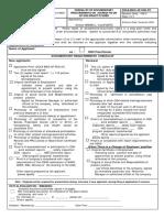 Safety Practitioner Accreditation Checklist