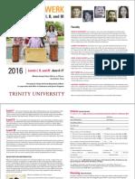 Trinity University Orff Levels 2016