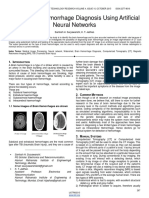Smart Brain Hemorrhage Diagnosis Using Artificial Neural Networks
