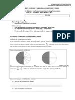 Guía de Aplificación y Simplificación de Fracciones