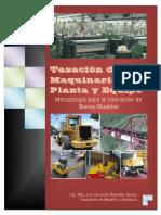 Tasacion de Maquinaria Planta y Equipo