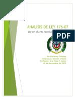 Ley 176-07 de la República Dominicana