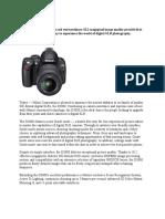 Nikon d3000 Manual