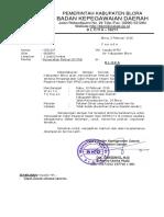 Undangan Pengambilan SK PNS K-II