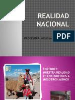 Realidad Nacional Resumen